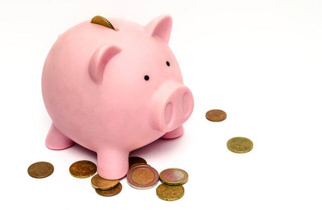 piggy bank with coins - Become the Bank